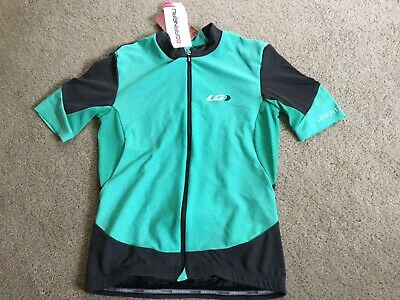 Carbon Cycling Jersey (Louis Garneau CARBON MESH JERSEY Cycling Shirt RACER FIT Women S Mojito Green)