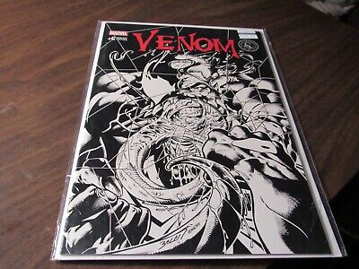 Venom #6 Scorpion Comics Black Sketch Variant Cover Spider-Man Marvel Comic covid 19 (Black Spider Man Venom coronavirus)