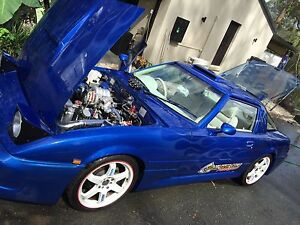 Mazda rx7 13b turbo extended port rotary powered 1984 custom drift s3 Morayfield Caboolture Area Preview