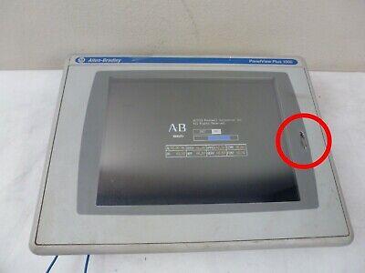 Allen Bradley Panelview Plus 1000 2711p-rdt10c Display Read Description