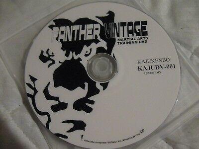 Panther Martial Arts - panther vintage martial arts dvd Training KAJUKENBO KAJUDV-001 12/7/2007 MX