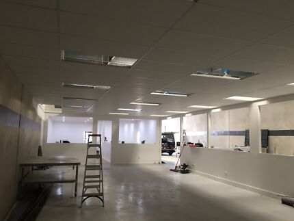 Office fitouts & Plastering Services