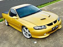 **2002 HOLDEN VU SER II SS UTE** 6SP MANUAL** Greensborough Banyule Area Preview