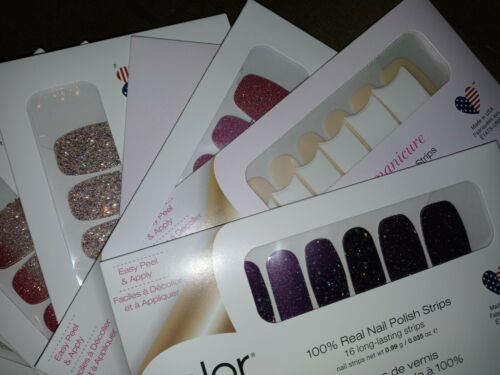 Nail Polish Strips FREE Sample w/purchase of 2 Strips Authentic NIB Color Street