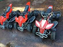 Quad bikes 4 wheeler motorbike 50cc x 3 Cannington Canning Area Preview