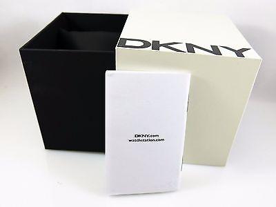 Original DKNY Empty White watch Box Presentation With Instruction Booklet (Original Dkny Box)