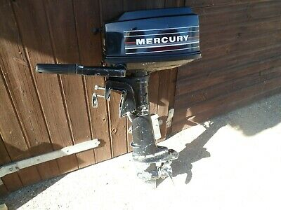 MERCURY 5HP SHORT SHAFT, 2 STROKE OUTBOARD ENGINE