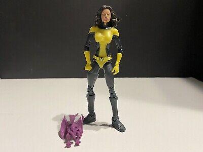 "2005 Marvel Legends Kitty Pryde Shadow Cat & Lockheed 6"" Action Figure ToyBiz"