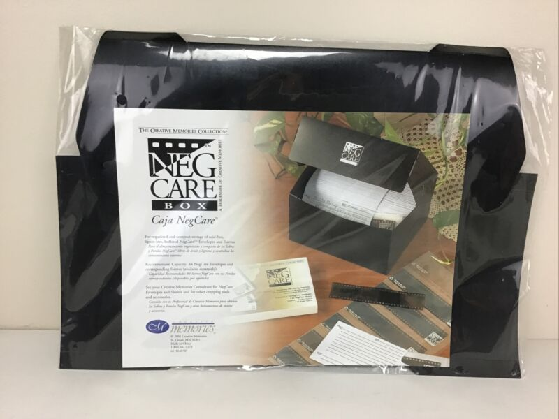 The Creative Memories Collection: Cana NegCare Box. Store Negatives.  Box Only.