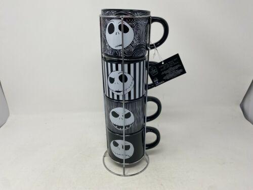 New Set Of 4 Jack Skellington Mug Set By Disney Cer0815-921