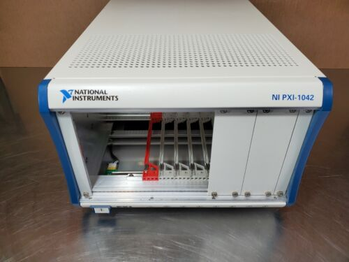 National Instruments NI PXI-1042 8-Slot PXI Chassis ~ No Cards (60 Day Warranty)