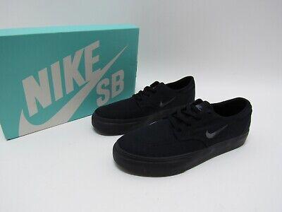 Nike SB Clutch (GS) Skate Shoe Grade School Shoes (Black) - Size 5Y Youth