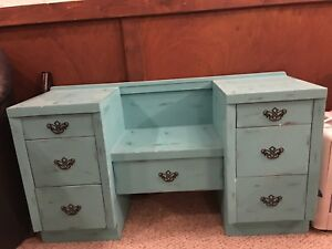 Shabby chic cabinet.