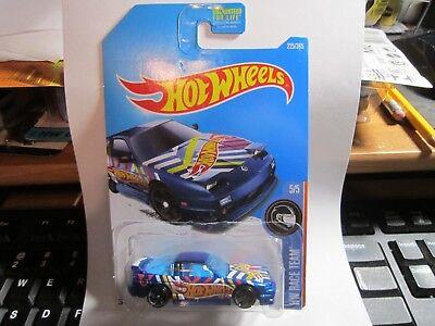 '96 Nissan 180SX Type X #225 * BLUE * 2017 Hot Wheels K Case