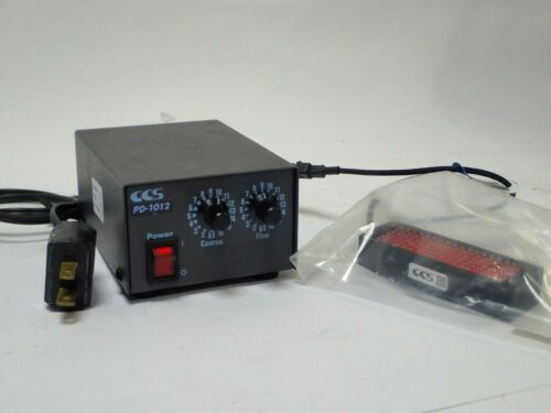 Ccs Pd-1012 12v Power Supply, In: 100-120v W 45 Series Rect Joining Plate Tested