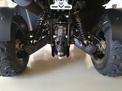 Totenkopf Anhängerkupplung Schutzkappe CF Moto Cforce