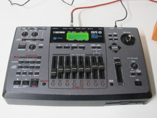 Boss BR-8 Digital Recorder Tested Read Description. LOOK FAST FREE SHIPPING.