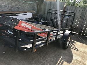 5x10 utility trailer ,atv,dirtbike ect excellent shape