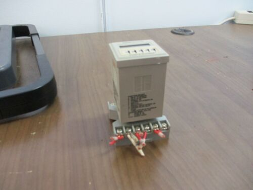 Potter & BrumField Time Delay Relay/Counter CNT-35-76 12-Function 120V 50/60Hz