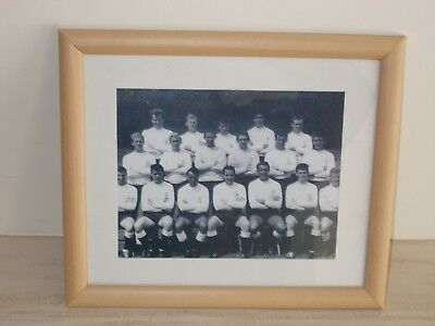 Framed Tottenham Hotspur squad photograph Jimmy Greaves  Dave Mackay