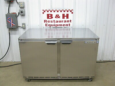 Beverage Air 48 Under Counter Stainless Two 2 Door Freezer Ucf48a-23