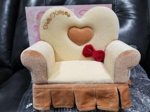 Sanrio Hello Kitty BEIGE sofa jewelry box Japan toreba FAST SHIPPING USA