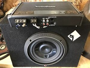 Sub woofer and amp