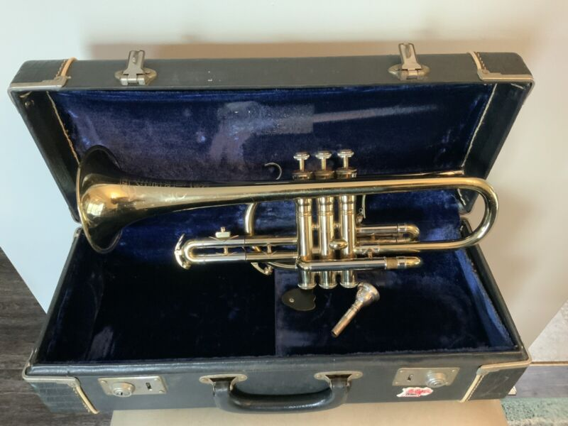 King Super 20 Master Cornet with Original mouthpiece/ Numbers Matching Valves