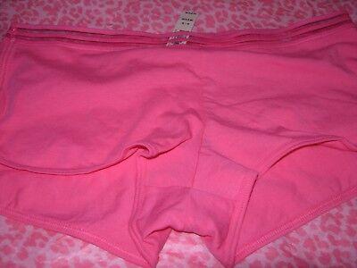 Unterwäsche Intim Kurzes Höschen Boyshort Kurze Pink M Nwt (Boy Kurze Unterwäsche)