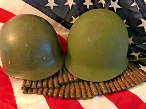 M1 Helmet USA - Vietnam war complete set rear seam/suspension liner /chin strap