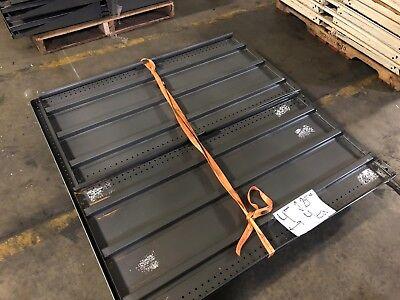 Gondola Store Shelving 48x 24.5 Grey 4 Available Used