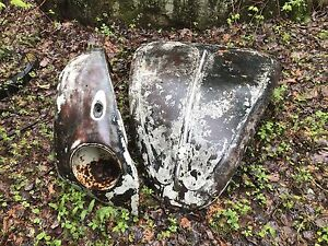 Beetle parts.  One hood with handle and one front fender