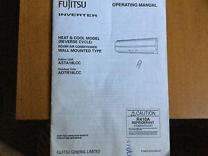 Fujitsu Inverter Reverse Cycle air conditioner 3Kw Blacktown Blacktown Area Preview