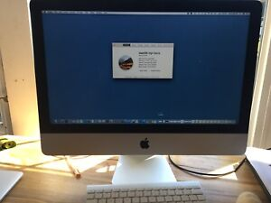 iMac 21.5 inch, late 2013.  2.7 GHz Intel Core i5