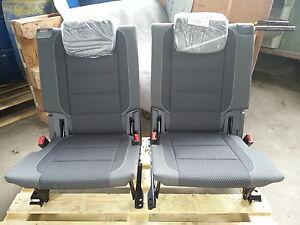 VW Touran Rücksitzbank Rücksitze Notsitze 3. Sitzreihe Neu