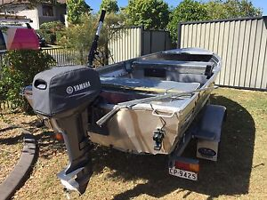 New Yamaha 15 Hp 2 stroke motor plus Boat and trailer Caboolture Caboolture Area Preview