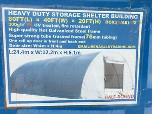Portable shelter storage