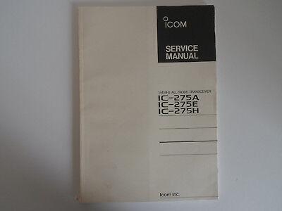 (ICOM-275 (GENUINE PRINT SERVICE MANUAL ONLY)...........RADIO_TRADER_IRELAND.)