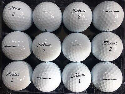 36 Titleist Pro V1 5AAAAA+ refurbished golf balls (2018 model)