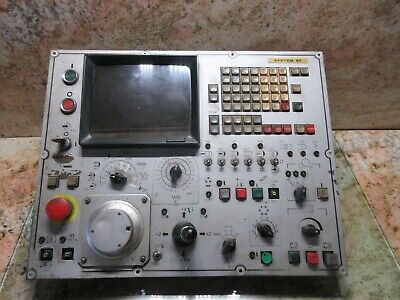 Mori Seiki Sl4 Cnc Lathe Main Operator Control Panel Fanuc 6t A860-0200-t021