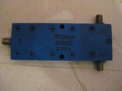 Anaren Model 40265 Rf Power Divider Sma Connectors