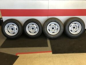 GM Rally Wheels and Tires