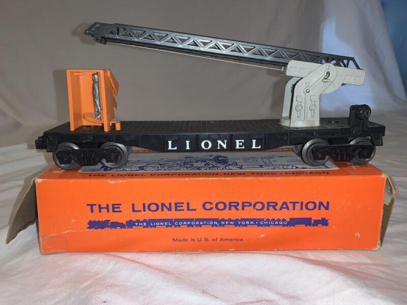 Lionel 6512 Cherry Picker Car With Box