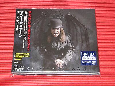 2020 OZZY OSBOURNE ORDINARY MAN WITH BONUS TRACK JAPAN BLU-SPEC CD