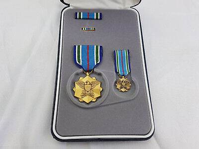 Joint Service Achievement Medal Original US Orden im Etui SONDERSET Ribbon Pin