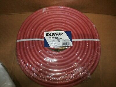 New Radnor 64003329 - 516 X 50 - Red And Green - Twin Welding Hose