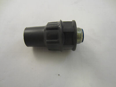 Robroy Pr5333 34 Pvc Coated Straight Sealtight Connector  Ocal St34-g