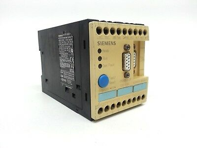 Siemens 3uf5001-3bj00-1 Simocode Dp Basic Unit Profibus Dp