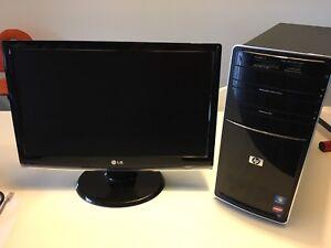"AMD Athalon II X3 440 Processor and 21.5"" LG monitor"