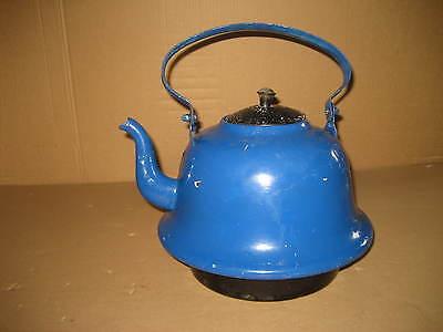 Großer alter Wasserkessel Kessel Teekessel für Brennhexe Heizungherd Kohlenherd